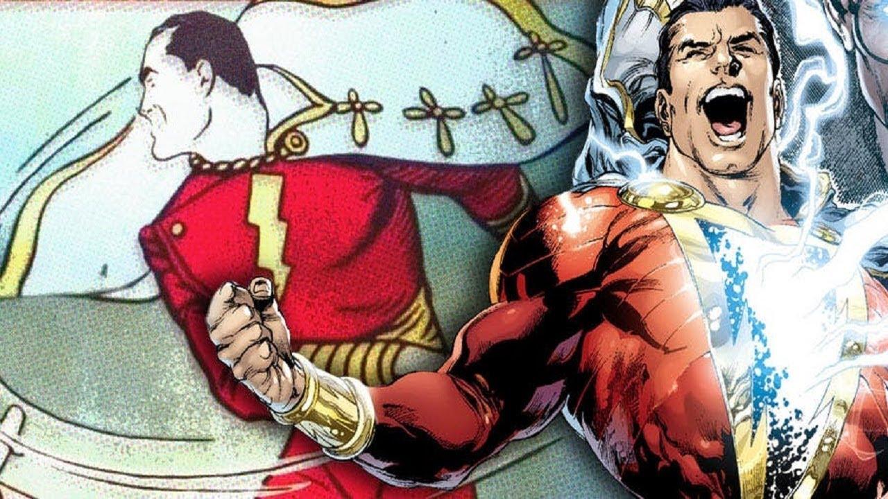 Captain Marvel  E  Fawcett Dc Comics Version E    E  Shazam Character Origin Allies Foes E