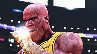 NBA 2K19: Thanos ft. LeBron James