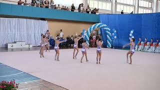 Delice Splash Одесса Короткая программа 1 день 4k