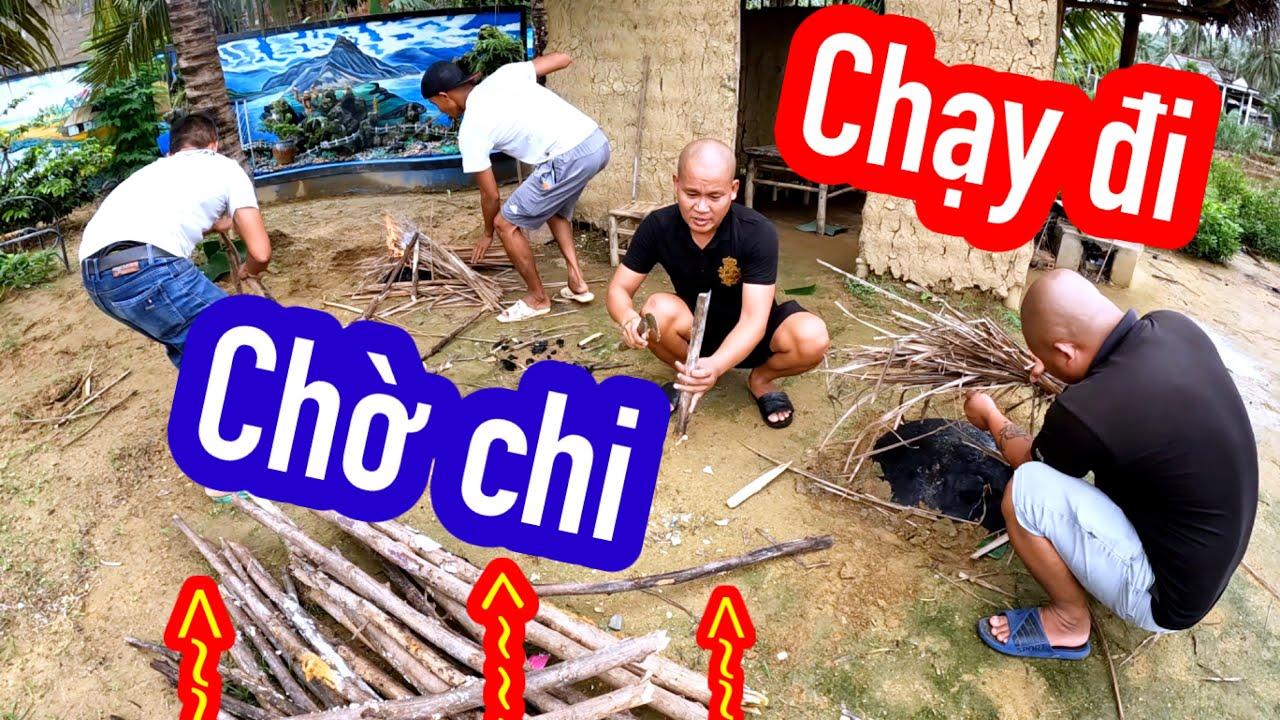 Vua Đầu Bếp Heo Up Chảo Chạy Đi Chờ Chi | Son Duoc Vlogs