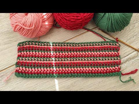 Схема вязания крючком коврика великолепный