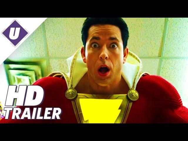 Shazam - Official Comic-Con Teaser Trailer | SDCC 2018