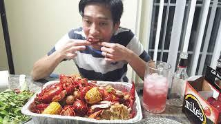 📌402-Craw fish Mukbang- tôm Hùm Đất Siêu Bự
