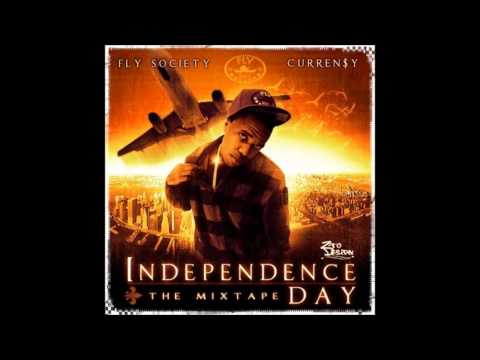 Currensy - All About A Dollar [ Independence Day Mixtape ]