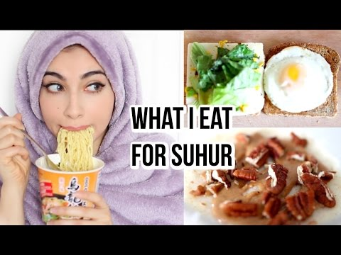What I Eat For Suhur   2017