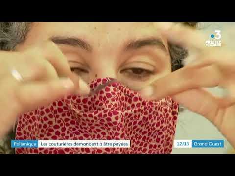 Coronavirus: les couturières solidaires qui confectionnent des masques demandent un salaire
