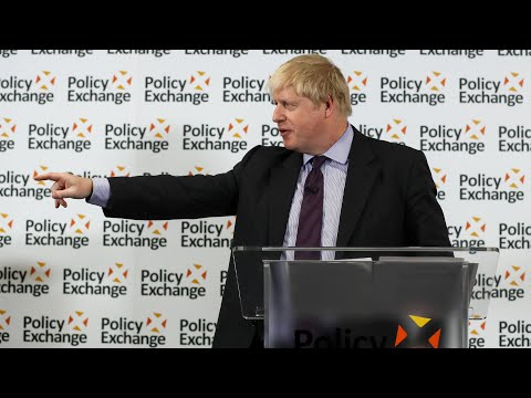 Boris Johnson: Brexit is not 'a V-sign from the cliffs of Dover'