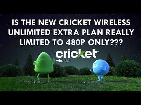 IS THE CRICKET WIRELESS UNLIMITED EXTRA PLAN REALLY LIMITED TO 480P ONLY?