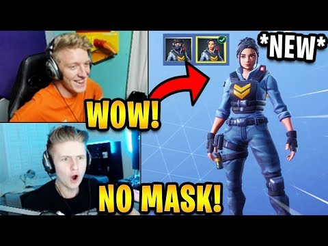 Streamers Get The *NEW* Unmasked Style For The Waypoint Skin! (FREE UPGRADE) | Fortnite Highlights