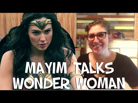 Thumbnail: Mayim Talks Wonder Woman