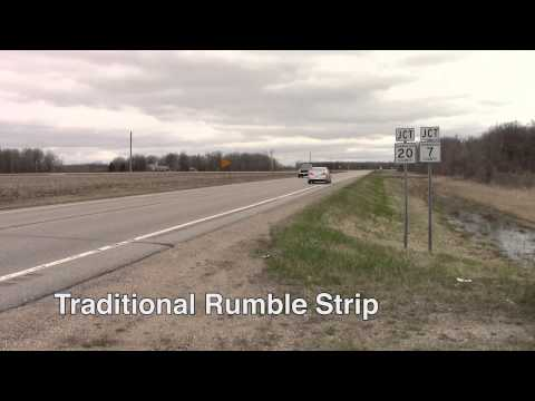 Rumble Strips: Noise Difference from Traditional vs. Sinusoidal Designs
