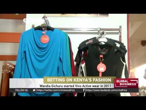 Vivo Activewear retail outlet manufactures made-in-Kenya apparel