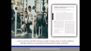 David Phillips MD -- Oxidative Stress and Athletic Performance