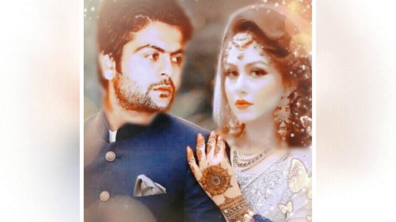 Ahmed Shahzad And Sana New Wedding Pics 2017