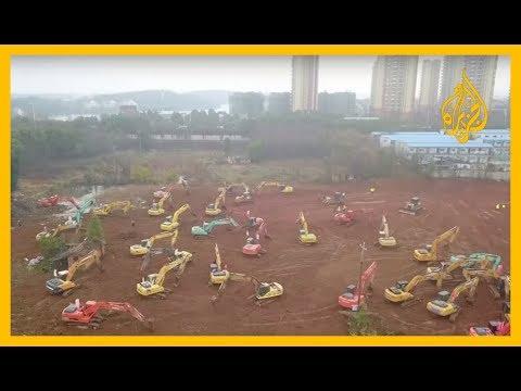 #الصين تبدأ ببناء مستشفى سيكون جاهزا خلال 6 أيام!.. المستشفى لعلاج مرضى فيروس #كورونا في مدينة ووهان