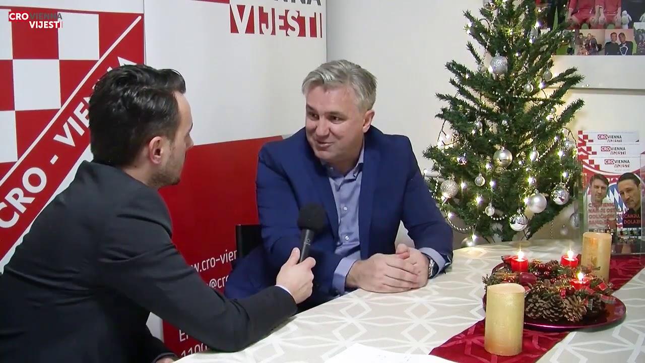 Razgovor sa Željkom Batarilom, glavnim urednikom Cro Vienna - vijesti