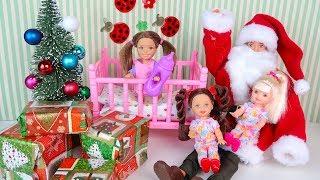 Новогоднее Желание или Как Катя Стала Маленькой Мультик Куклы #Барби Сериал Игрушки для девочек
