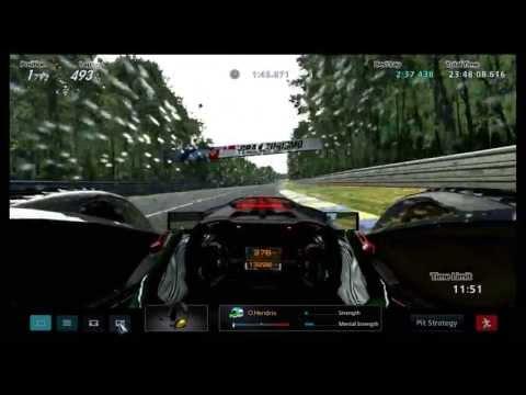 Gran Turismo 5: Le mans 24 hour B-spec (final 15 minutes)