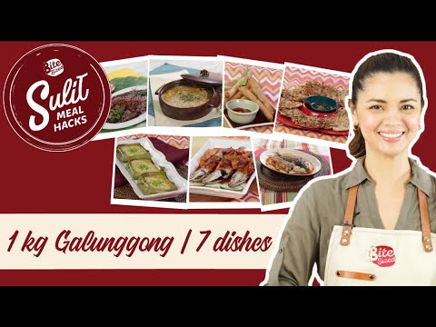 7 Dishes From 1 Kg Of Galunggong! | Sulit Meal Hacks