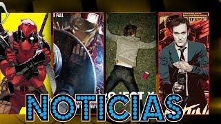 CivilWar, MujerMaravilla, ProyectoX, Deadpool y más