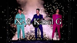 Download Lagu Jonas Brothers - X feat Karol G Download link on the description MP3