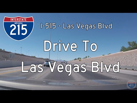 Interstate 215 - Interstate 515 - Mile 12 - Nevada | Drive America's Highways 🚙