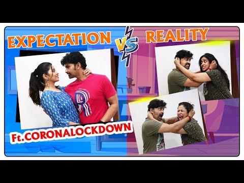 #LOCKDOWN #EXPECTATION Vs #REALITY Promo  #crazyCOUPLES & FAMILY #Expectations Ft.SUSHMA KIRON