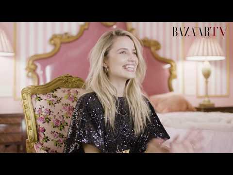 Dianna Agron Harper Bazaar  PHOTOSHOOT