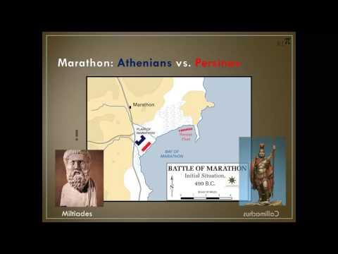 Greco-Persian Wars: The Battle of Marathon (in a nutshell)