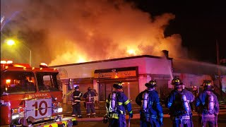 City Of Newark NJ Box 4416 2nd Alarm Commercial Car Body Shop Fire Clinton /S20th St 2-2-19