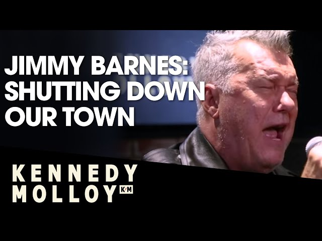 Jimmy Barnes - Shutting Down Our Town | Live On Kennedy Molloy! | Triple M