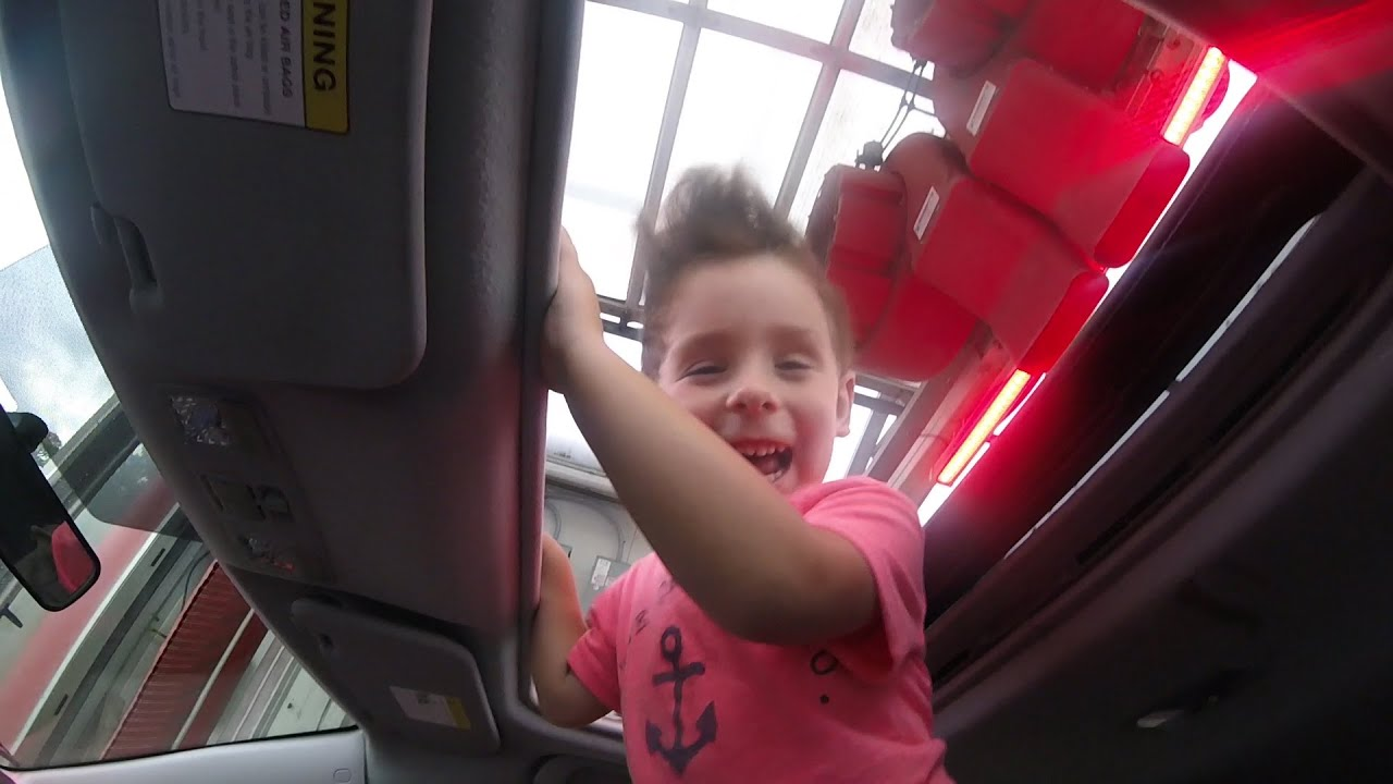 Open Sunroof in a Car Wash - YouTube