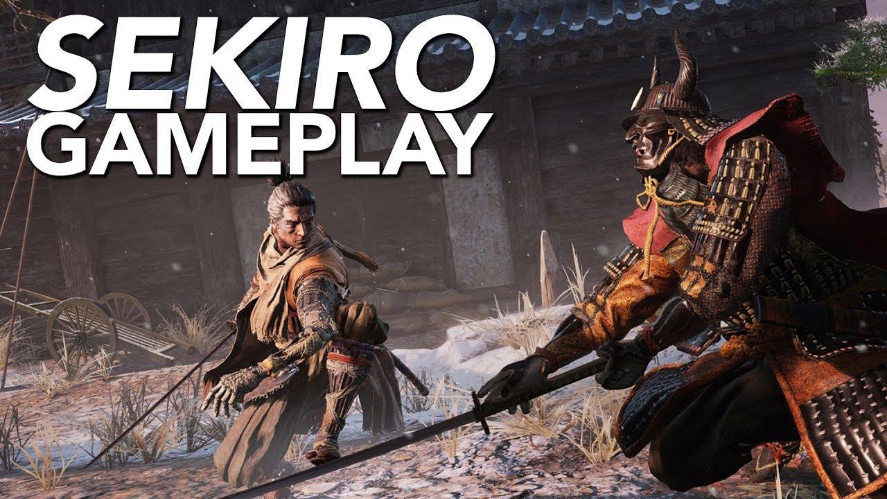 Sekiro Shadows Die Twice Hands On Gameplay