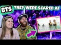 Let's test BTS' nerve Scary BTS experience Reaction