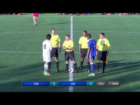 2017 Canada Summer Games - Mens Soccer - Alberta vs  Ontario