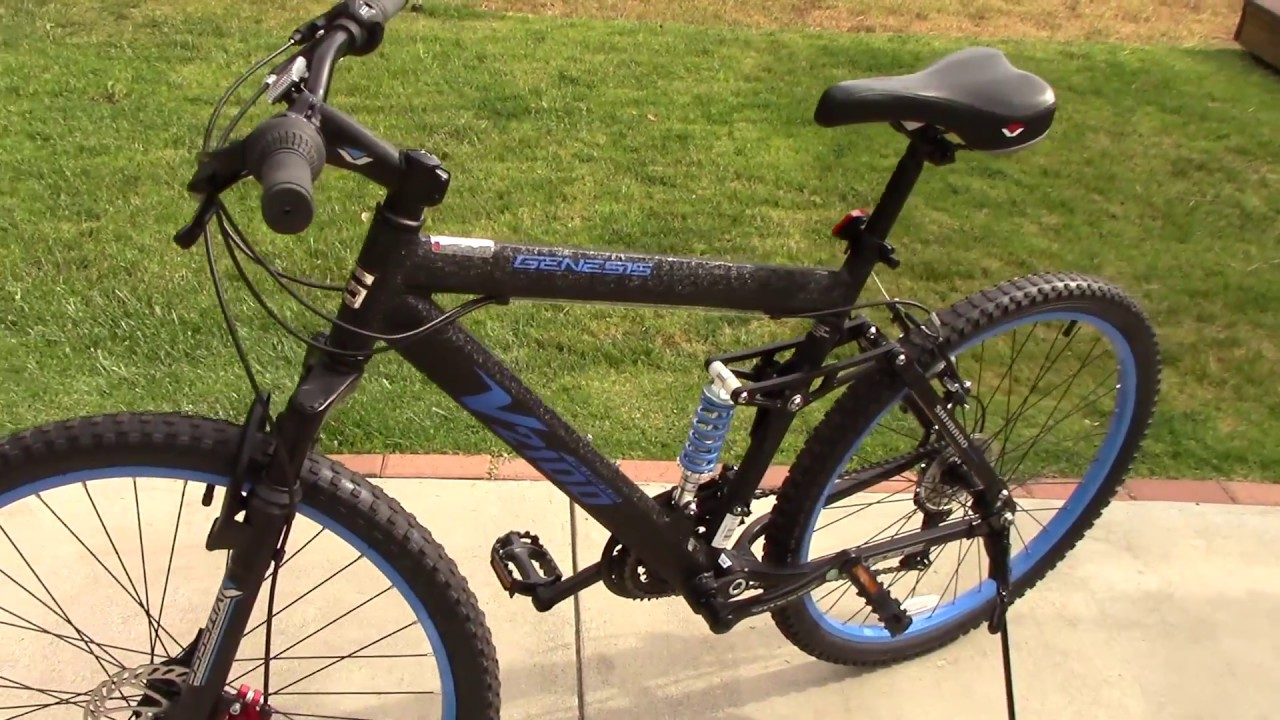 Genesis V2100 Mountain Bike Review And Unboxing From Walmart Youtube