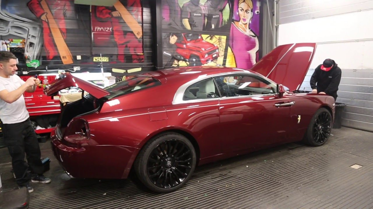 rolls royce wraith wrapped stealth style youtube. Black Bedroom Furniture Sets. Home Design Ideas