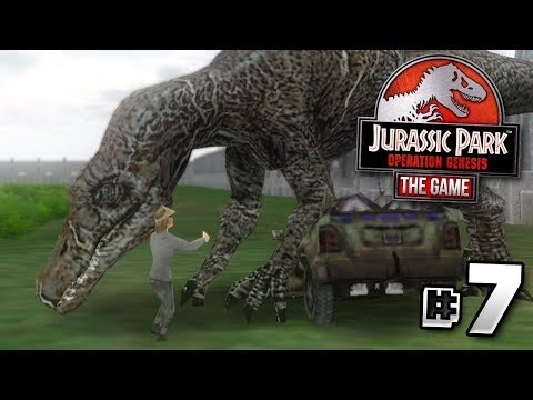 """""""PEOPLE... ARE... DYING!!!"""" - Jurassic Park Operation Genesis 