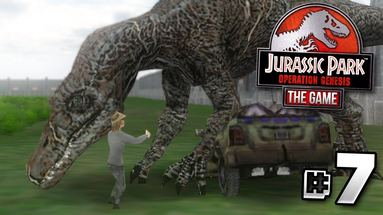 """""""PEOPLE… ARE… DYING!!!"""" – Jurassic Park Operation Genesis 