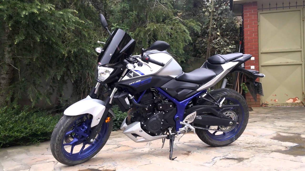 Yamaha MT25 ön Cam, Windshield, Rüzgarlık, 4K