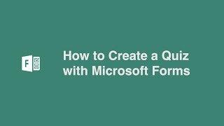 So Erstellen Sie ein Quiz mit Microsoft Forms