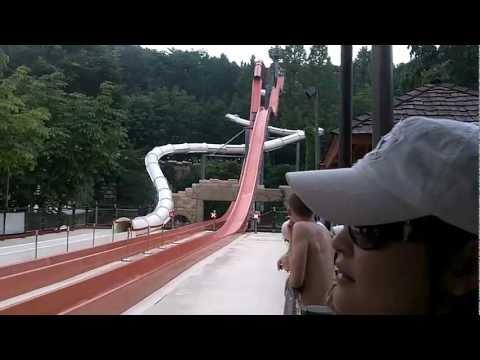 South Korea Trip - Caribbean Bay 6 (water slide)