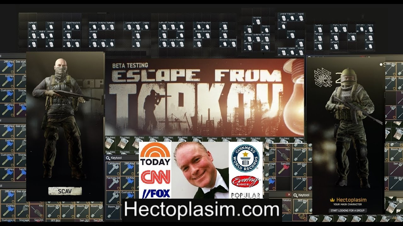Live Stream Escape from Tarkov by Hectoplasim Shoreline Spa Tour and other  Quests