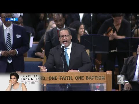 Michael Eric Dyson criticizes Barack Obama, Donald Trump at Aretha Franklin's funeral
