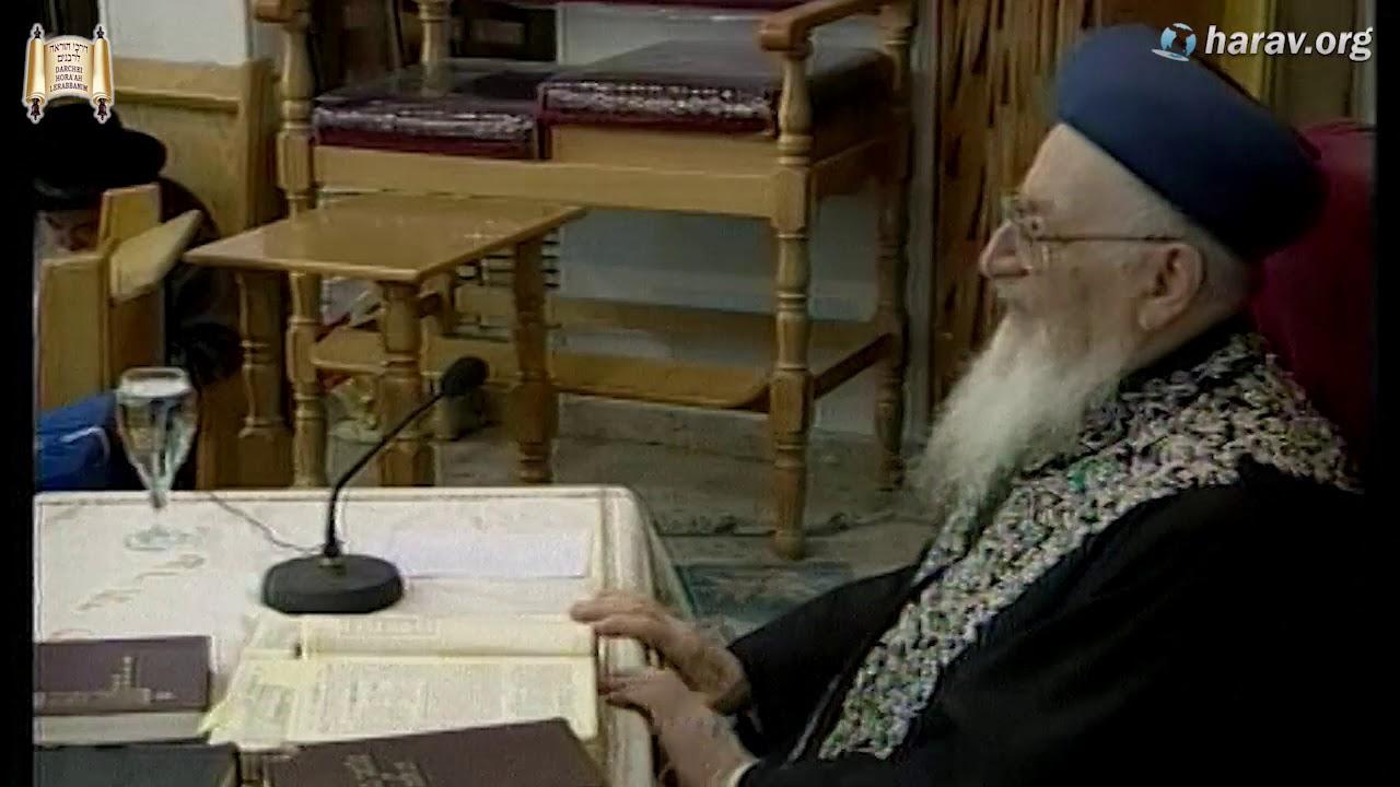"""הרב מרדכי אליהו זצוק""""ל מספר איך התחיל הקשר בינו והרבי מלובביץ זצוק""""ל"""