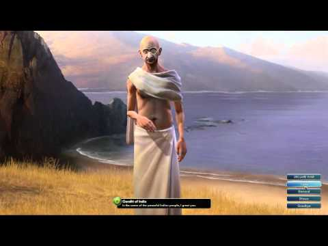 Civilization V OST | Gandhi Peace Theme | Raga Asa