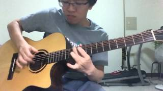 Gravity -  (Sungha Jung) - by pig07153 ( Standard Tuning )