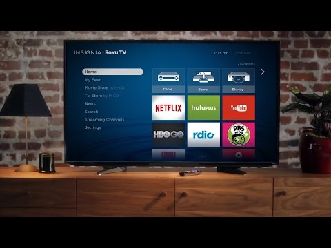 Roku goodness instilled in a TV! Insignia Roku TV | GetConnected