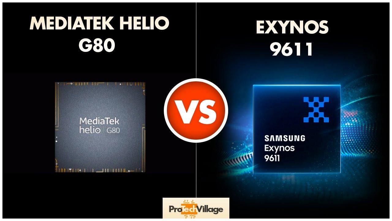 Samsung Exynos 9611 vs Mediatek Helio G80 ? | Which one is better? ??| Helio G80 vs Exynos 9611? - YouTube