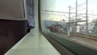 車窓】名鉄1850系(1951F)快特新鵜沼行き 豊橋~東岡崎